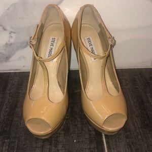 Nude heels from Steve Madden